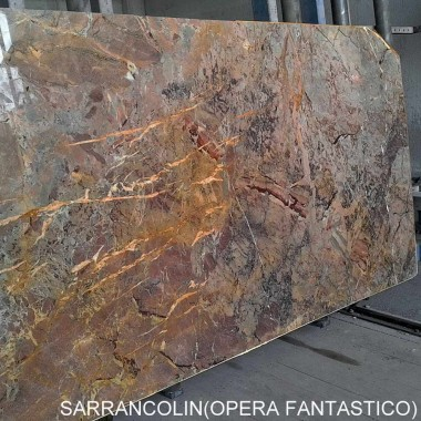 Sarrancolin - bl.11624-SLABS 16-255X145X2